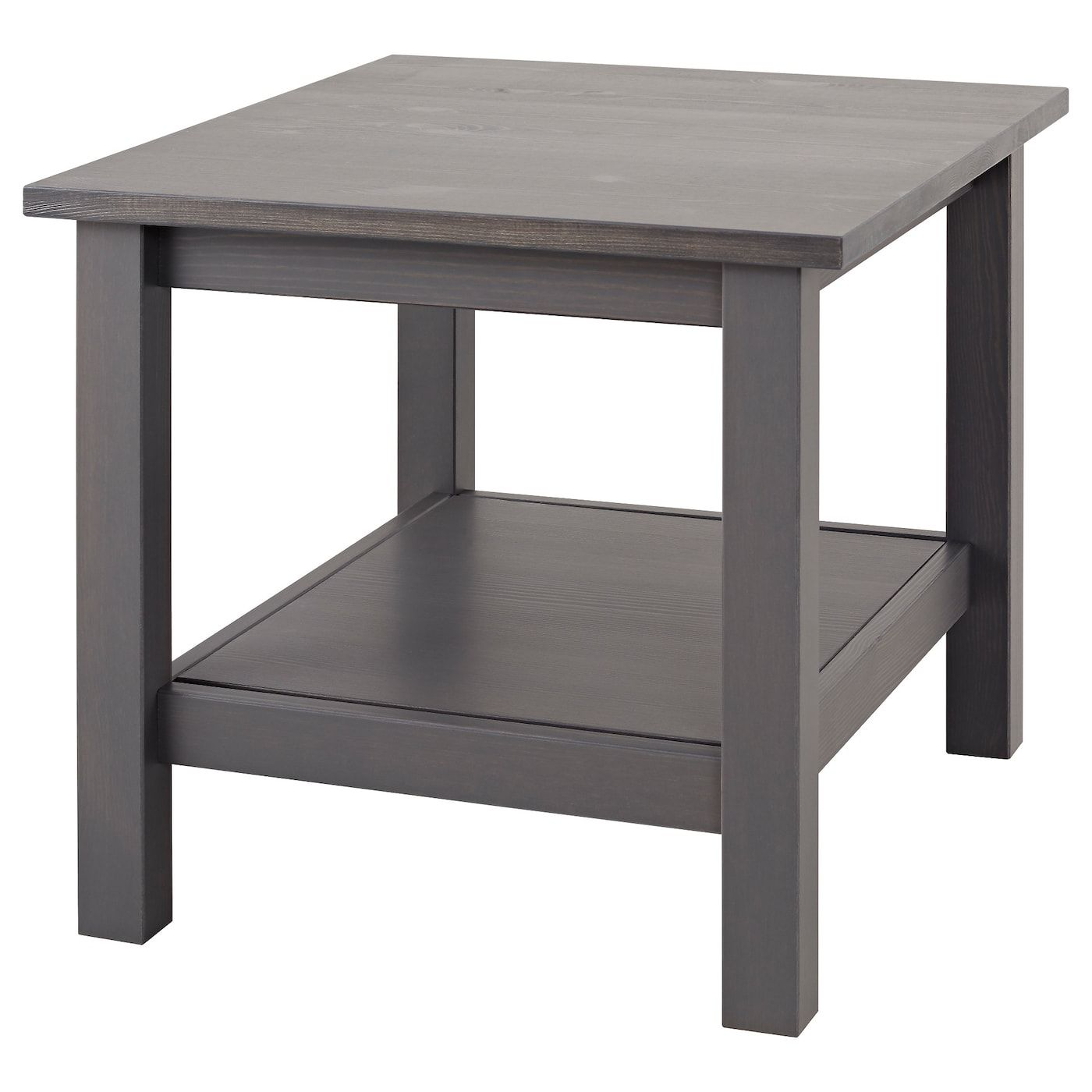 Hemnes Side Table Dark Gray Gray Stained 21 5 8x21 5 8 Grey