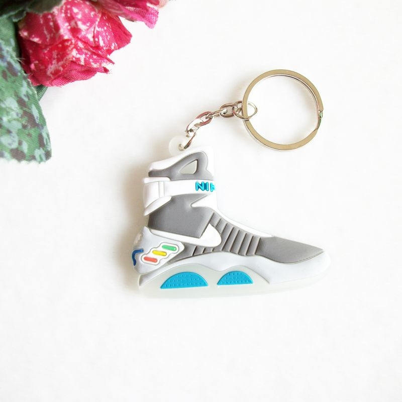 Back To The Future II Glow In The Dark Air Mag Key Chain For Woman Sneaker.  Women s ... 54c8592696