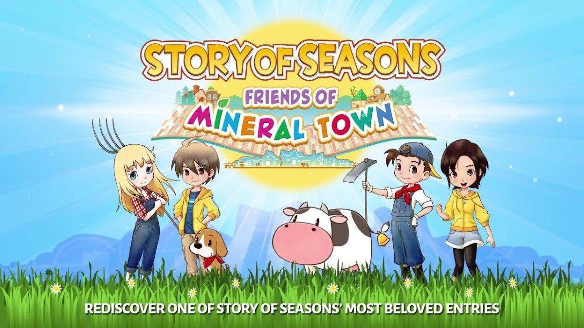 Story Of Seasons Friends Of Mineral Town Vorbestellung Gestartet Gamerscheck In 2020 Story Of Seasons Nintendo Nintendo Switch