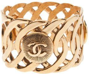 Chanel oversized bangle