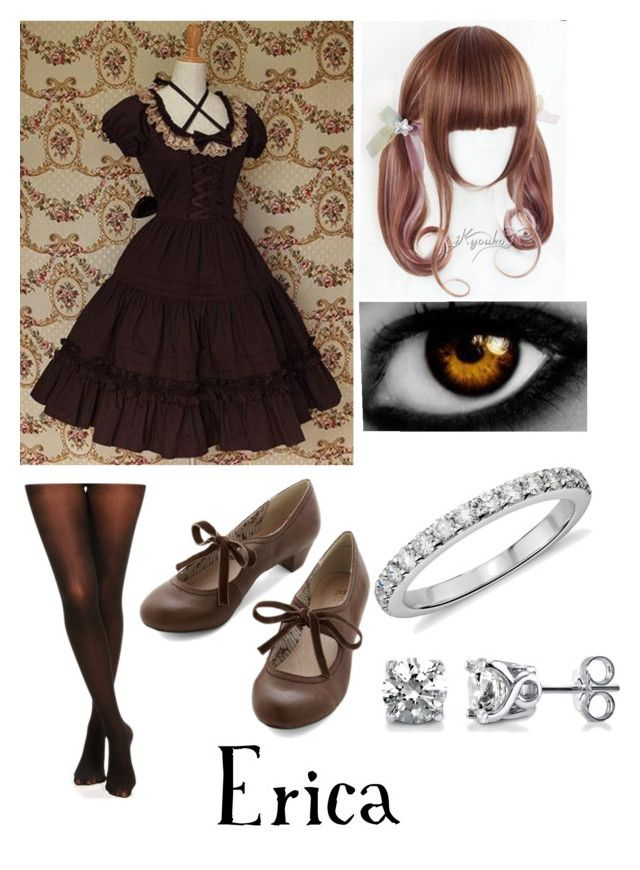 """""""black butler (oc)"""" by ironically-a-strider21 ❤ liked on Polyvore"""