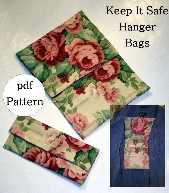 Keep It Safe Hanger Bags pdf Sewing Pattern by flowergirldesign