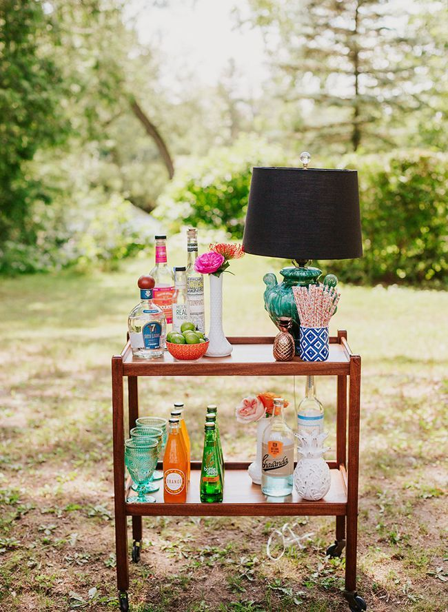 Bold Bright 70s Themed Bridal Shower Themed Bridal Showers