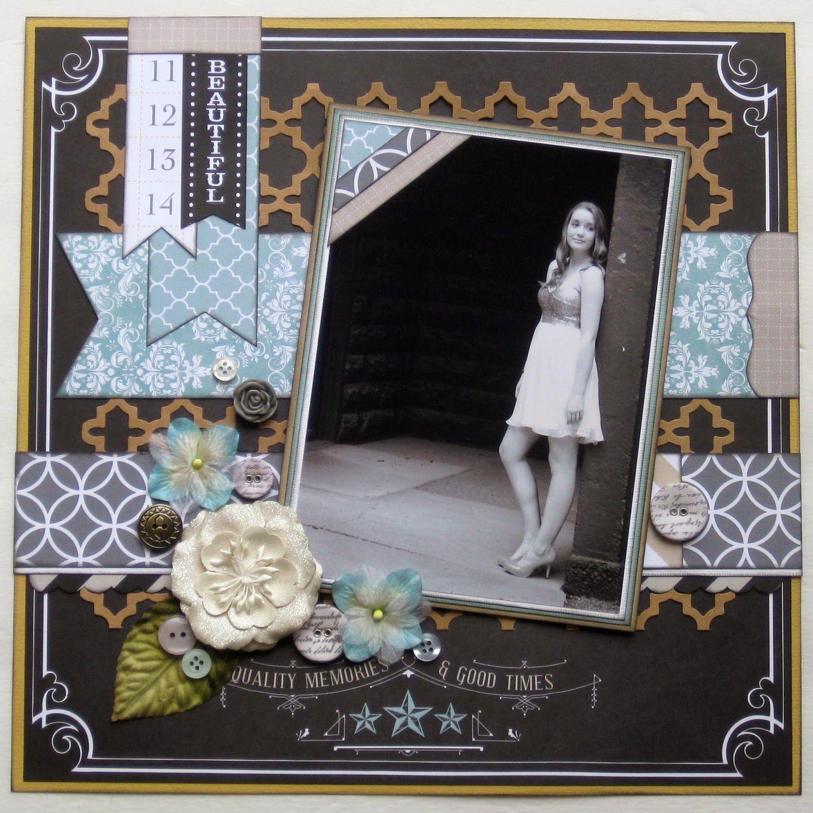 Scrapbook ideas multiple pictures - Multiple Teresa Collins Designs Scrapbook Layouts