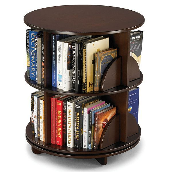 Bi Level Rotating Bookcase