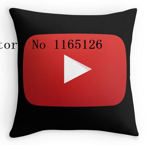 Hot Pillow cases Youtube Logo two sides