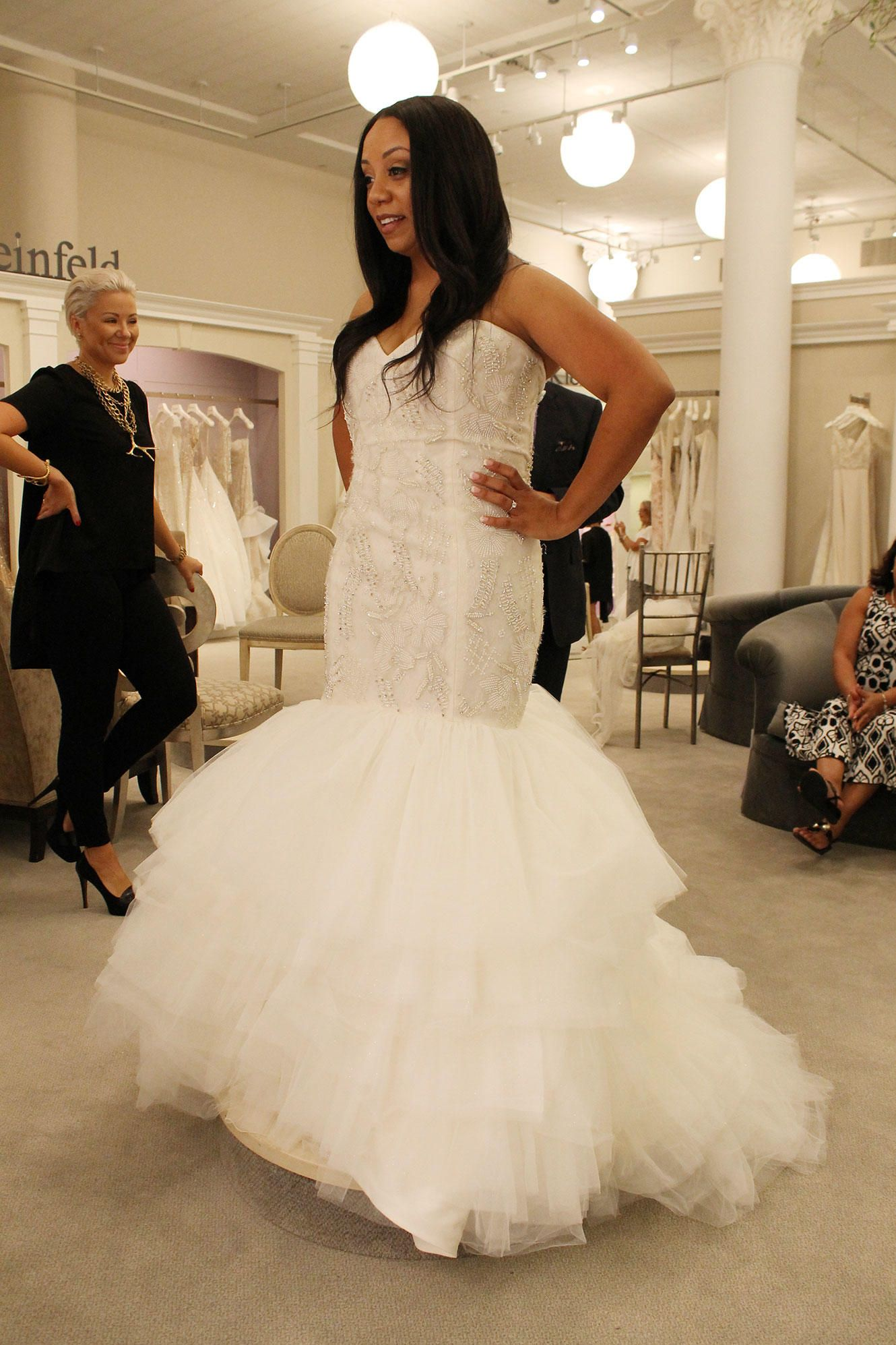 Season 14 featured dress lazaro sweetheart neckline beaded see all the beautiful wedding gowns featured in kleinfeld bridal on season 14 of tlcs say yes to the dress with randy fenoli ombrellifo Choice Image