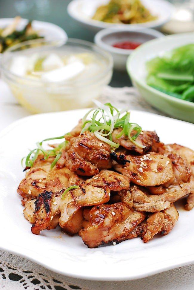 Dak Bulgogi (Korean Chicken BBQ)   Recipe   Chicken ...