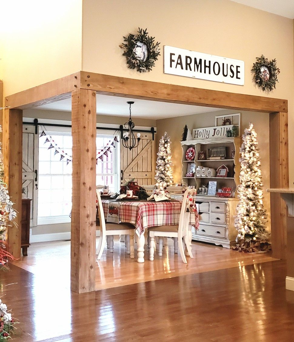 Holiday dining also inexpensive lake house living room decorating ideas rh pinterest