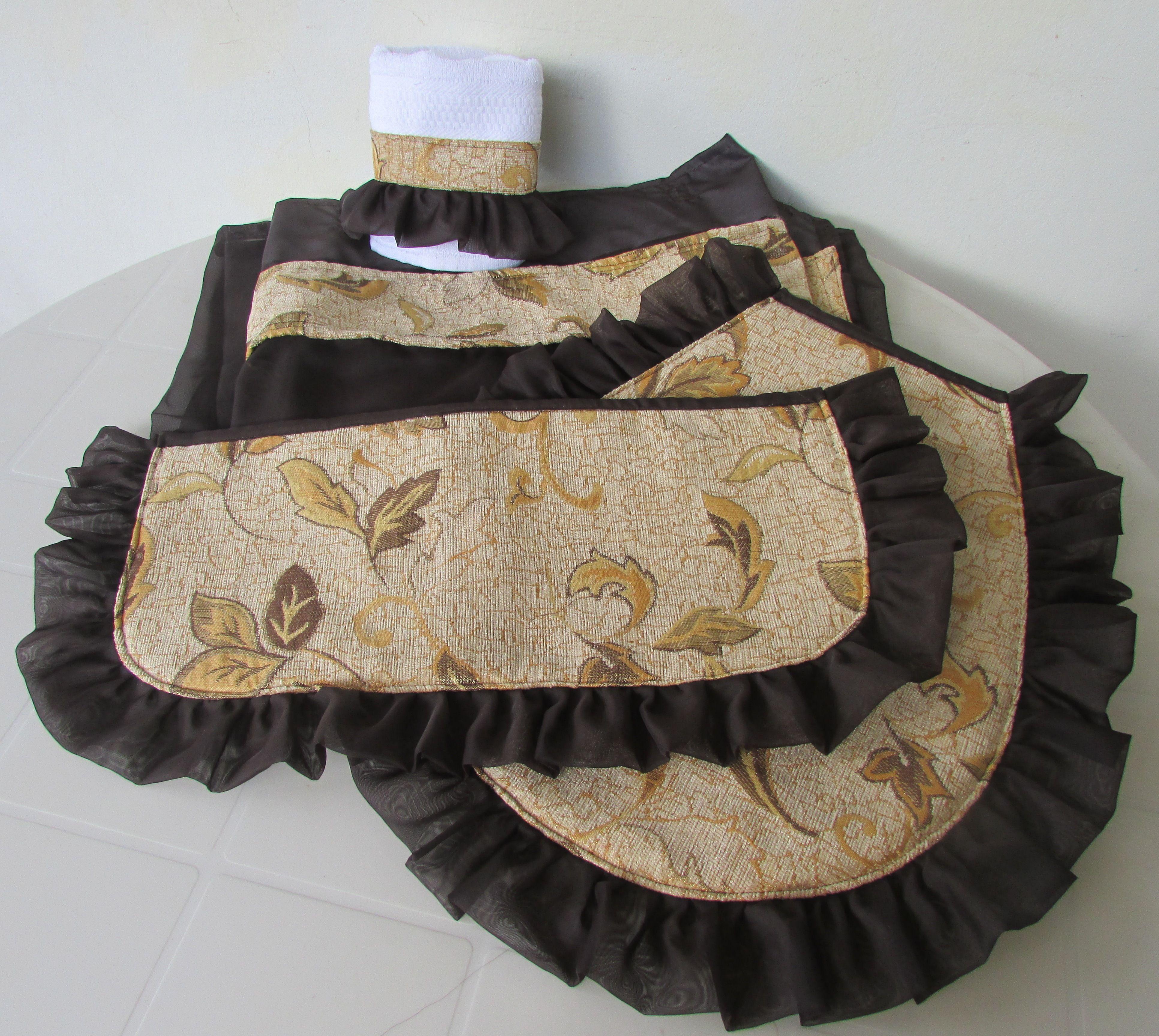 Juego De Bano Marron Chocolate Sewing Bags Duffle