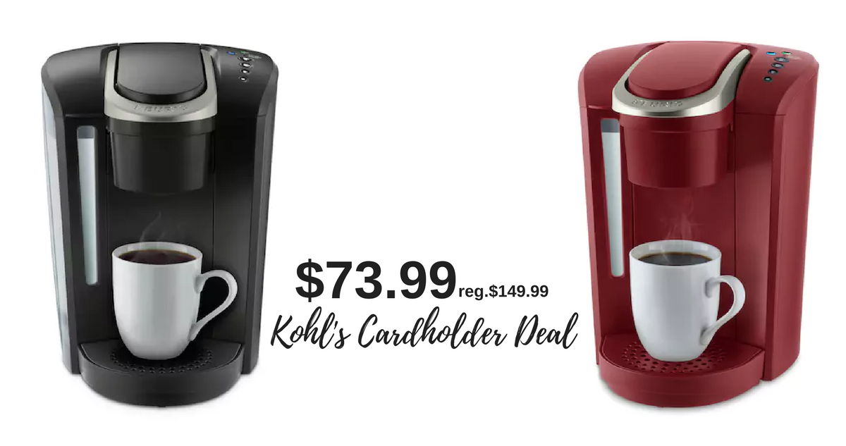 Single Serve K Cup Coffee Maker Kohls in 2020 K cup