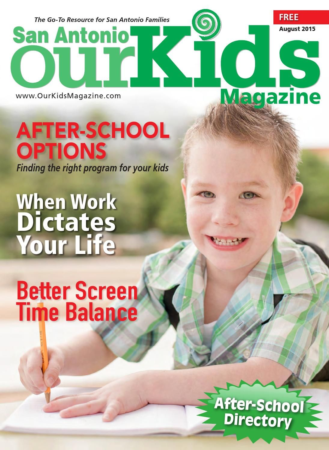 Our Kids Magazine August 2015