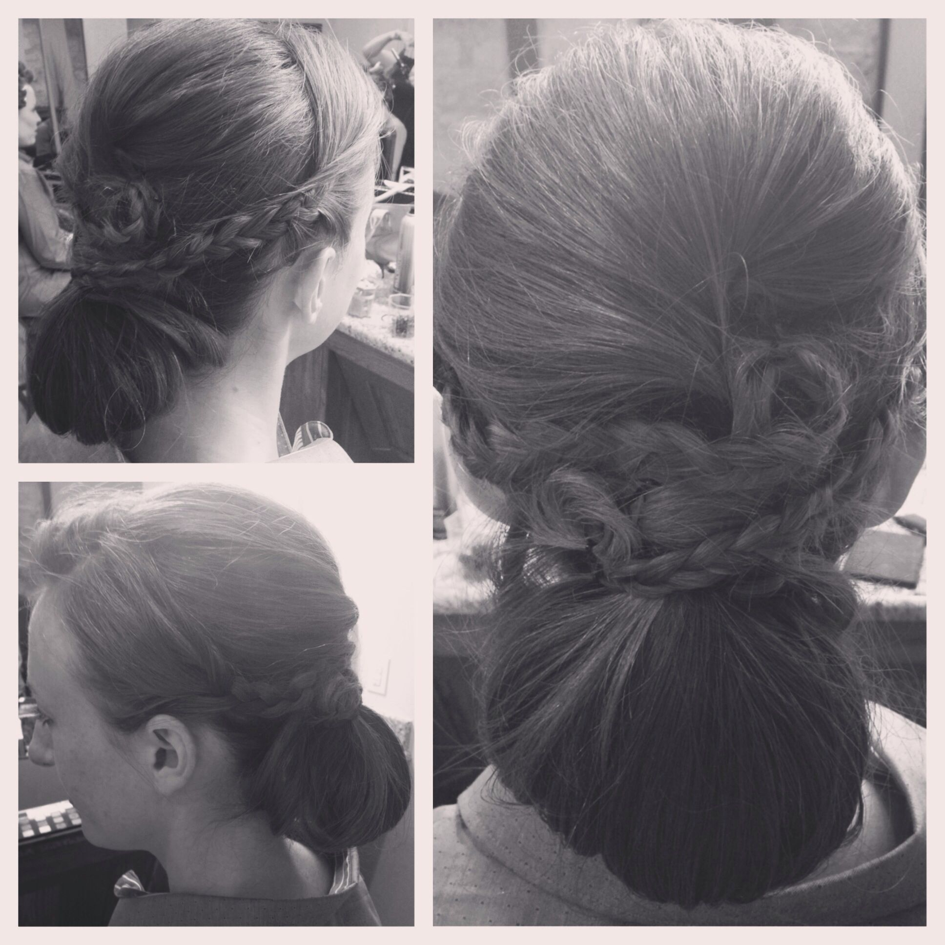 wedding hair by: ashley rhodes of creative collections salon