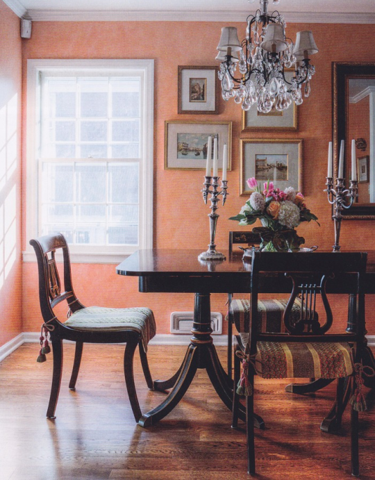 Dining Room Colour Ideas Part - 41: Interesting Color For Graceful Dining Room