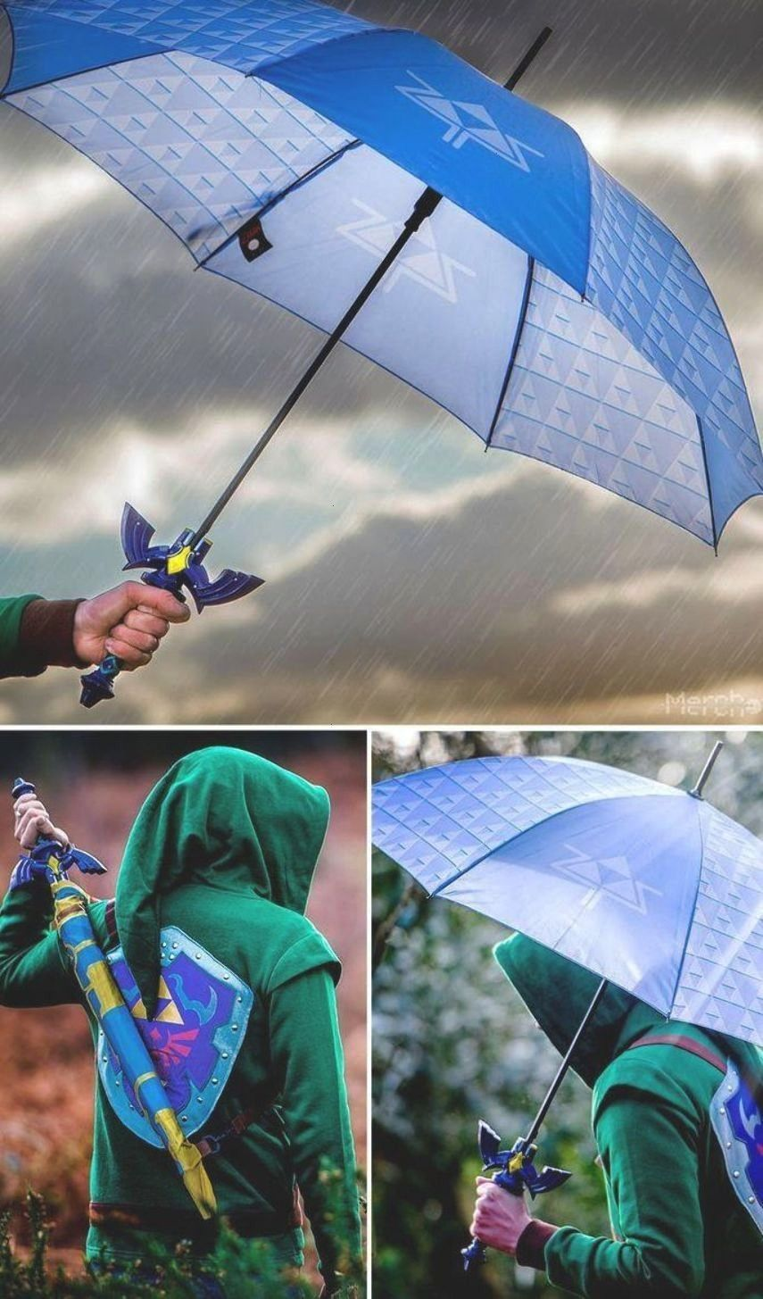 Master Sword Umbrella!Zelda Master Sword Umbrella!  Scheich Outfit Link vs Yiga Clan | Legende von