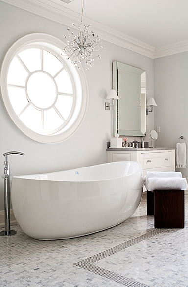 44 Best Luxury Marble Bathrooms | Gray painted walls, White ...