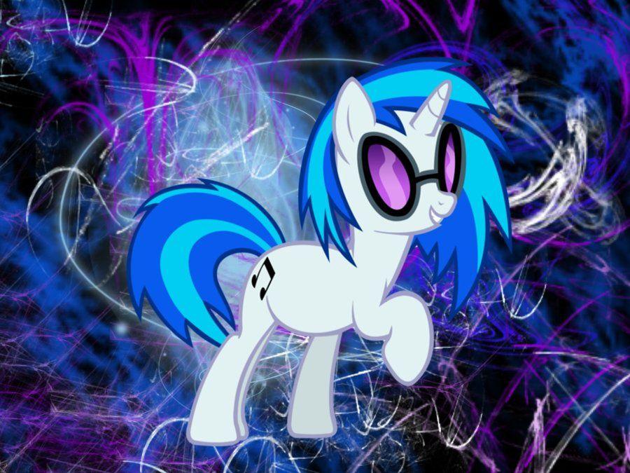 Pony DJ Pon3 Wallpaper