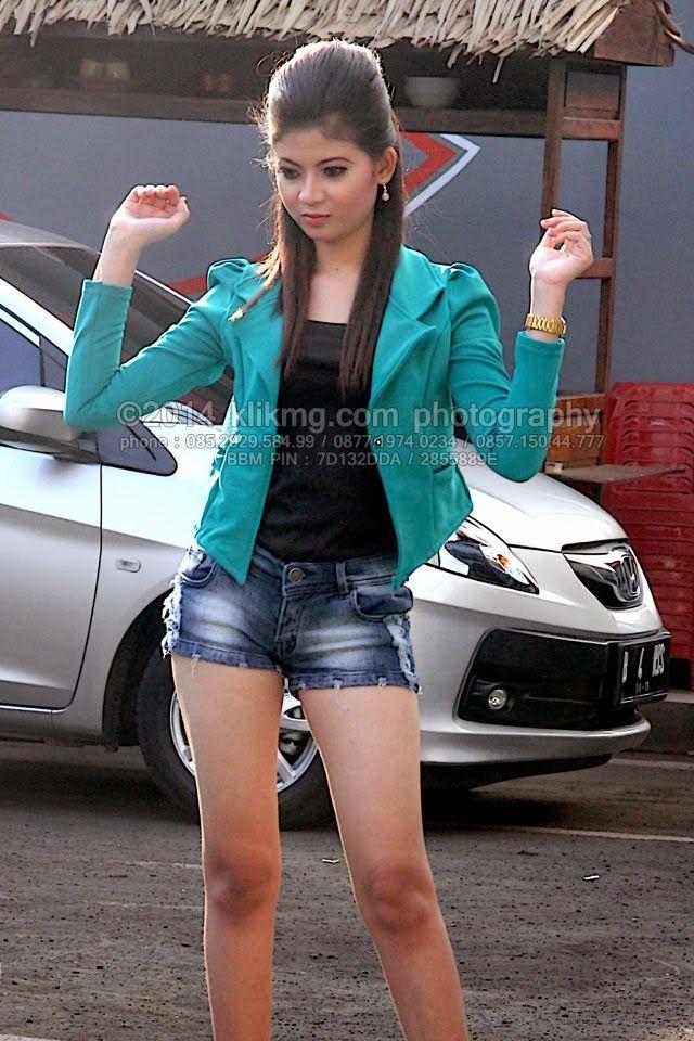 Gadis Model Seksi Casual Yang Full Sensual Dari Arena Hunting Silaturahmi Kpac Cilacap