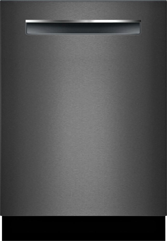 Bosch 800 Series 24 Built In Dishwasher With Stainless Steel Tub Black Stainless Steel Shpm78w54n Best Buy Integrated Dishwasher Steel Tub Black Stainless Steel