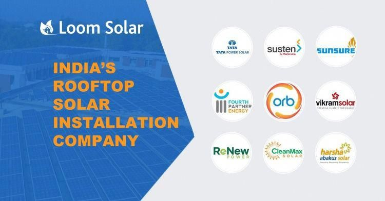 Top Rooftop Solar Installation Companies 2020 In India Solar Installation Solar Technology Solar Energy System