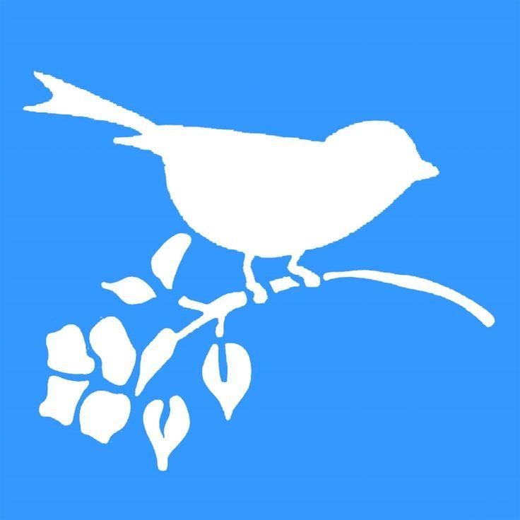 Free Bird Template Bird Template Bird Silhouette Silhouette