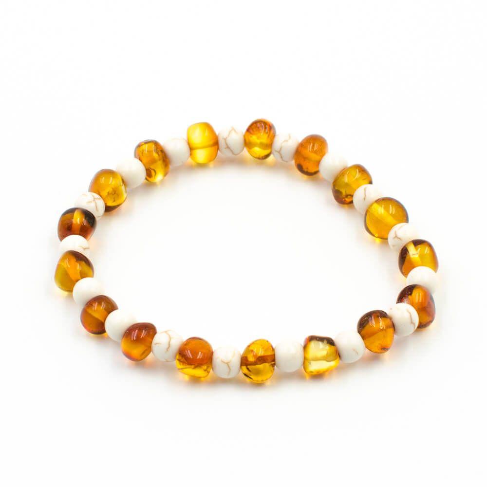 bracelet perle pierre femme