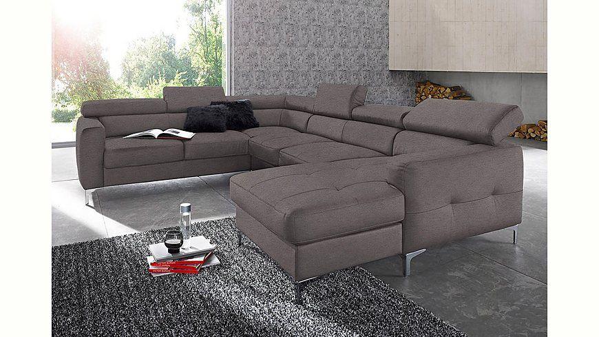 Places of Style Wohnlandschaft, wahlweise mit Bettfunktion Jetzt - wohnzimmer couch günstig