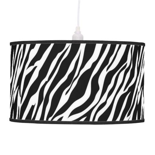 Zebra Skin Print Lamp Shade Zazzle Com With Images Lamp