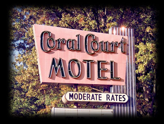 Coral Court No-tel Motel.  One of St. Louis's lost mid-century architectural treasures.