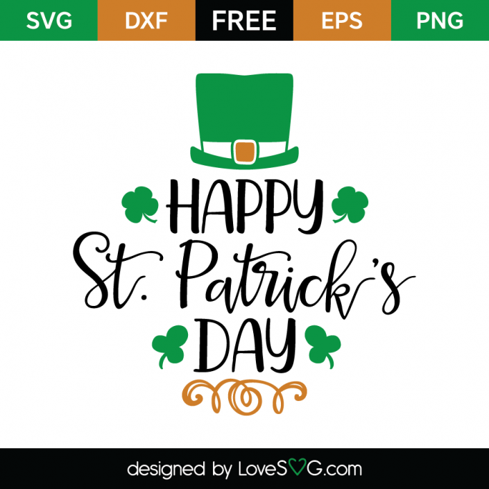 f56e6f96c FREE SVG CUT FILE for Cricut, Silhouette and more *** Happy St. Patrick's  Day