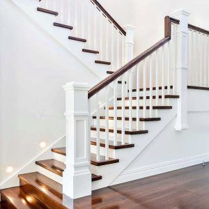 A Craftsman Style Stair Remodel Done Right #craftsmanstylehomes