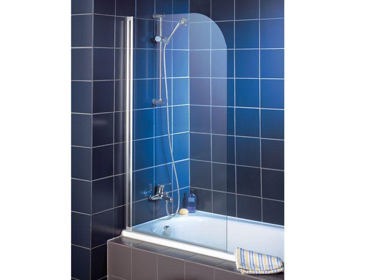 Schulte Rahmenlose Badewannenfaltwand 1-teilig 1400 x 800 mm, 69 Euro