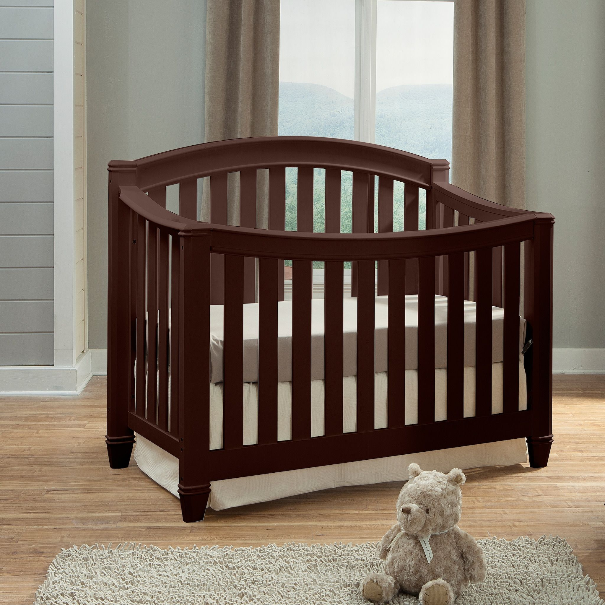 Thomasville Kids Highlands 4in1 Convertible Crib (With