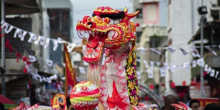 Chinese New Year, Port Louis, Mauritius, Africa