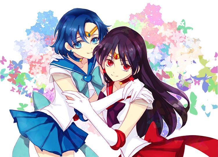 Sailor Moon, Sailor Mercury, Ami Mizuno, Sailor Mars, Rei-9602