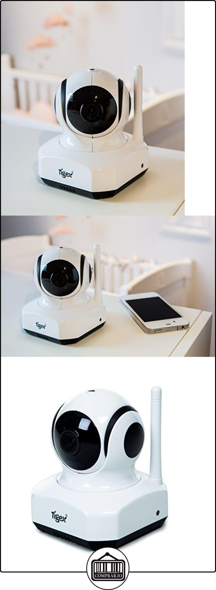 Tigex - Vigilabebés (vídeo, incluye apps), color blanco  ✿ Vigilabebés - Seguridad ✿ ▬► Ver oferta: http://comprar.io/goto/B00T9L0D1C