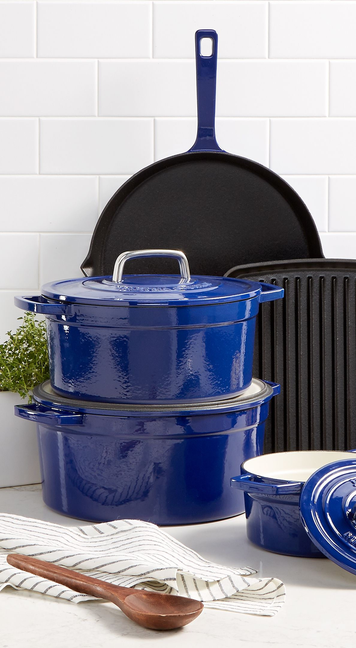 Refresh Your Kitchen With Martha S Enameled Cast Iron Cookware
