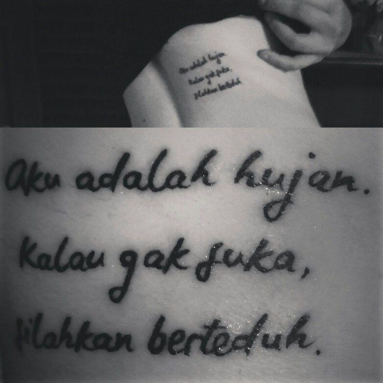 My Indonesian tattoo