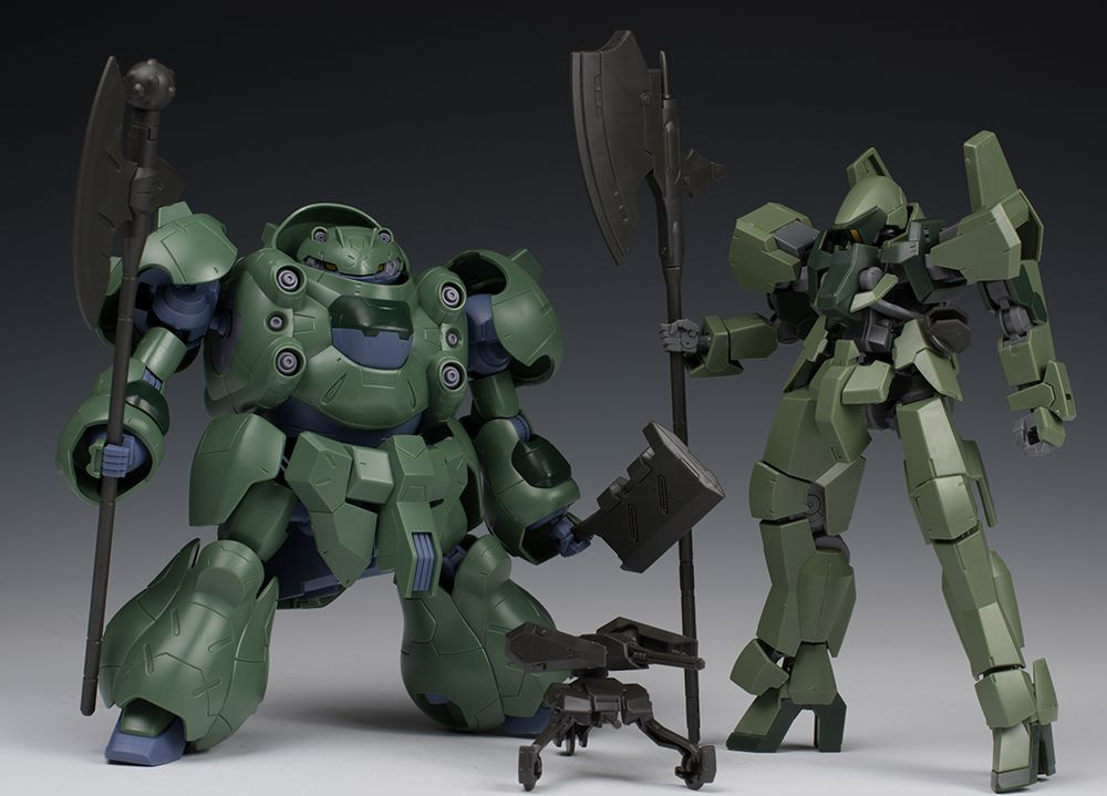 HGIBO 1/144 Mobile Suit Option Set 3 and Gjallarhorn Mobile Worker: Full Detailed REVIEW No.35 Big Size Images, Info http://www.gunjap.net/site/?p=291141