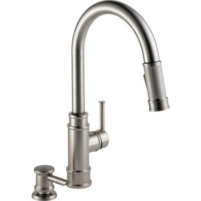 Delta Allentown Single-Handle Pull-Down Sprayer Kitchen Faucet