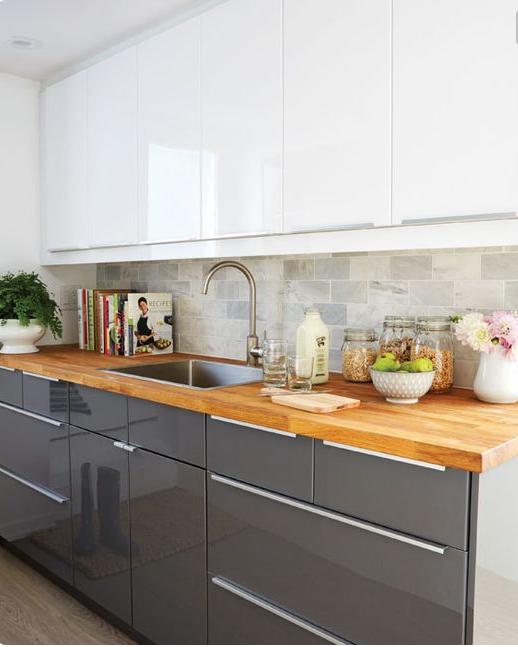 Ikea Kitchen Upper Cabinets: Basement Kitchen, Ikea