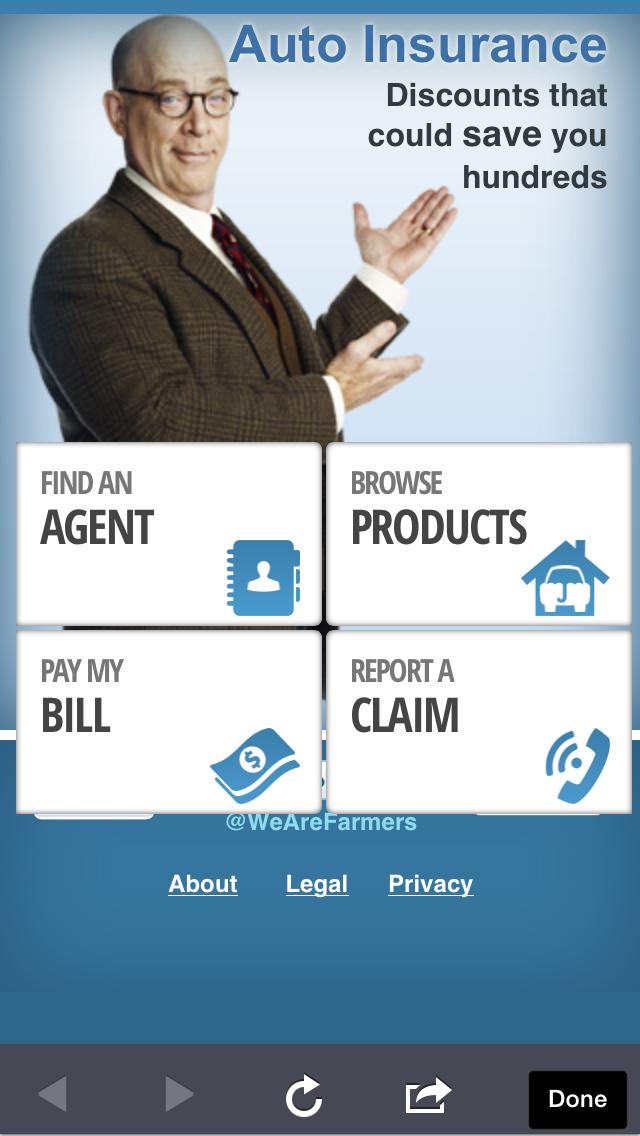 Farmer's Insurance Mobile Farmers insurance, Insurance