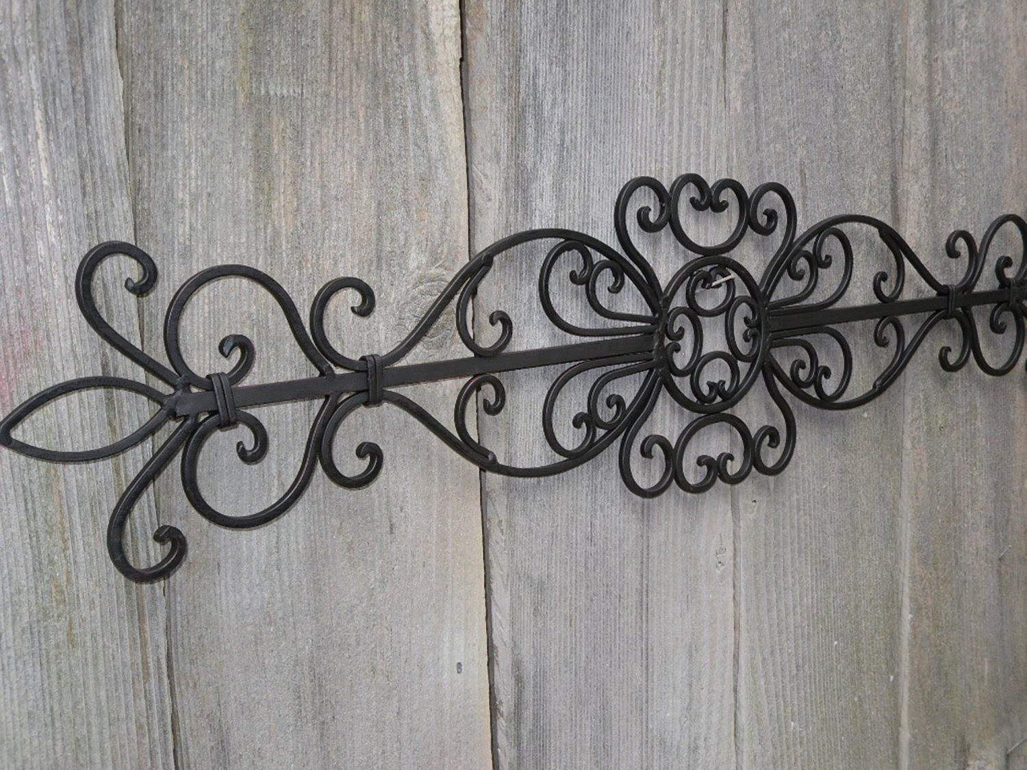 20 Best Decorative Outdoor Metal Wall Art Wall Art Ideas Outdoor Metal Wall Art Wrought Iron Wall Decor Iron Wall Decor