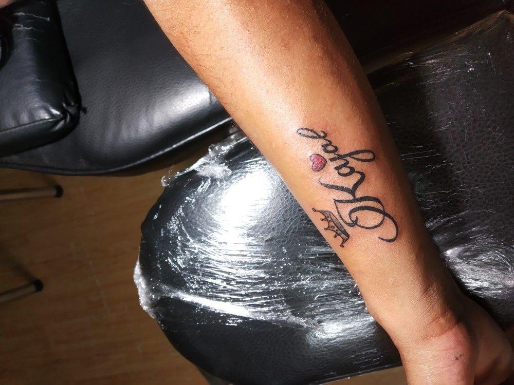 Kajal Name Tattoo In 2020 Name Tattoo Designs Angel Tattoo Designs Tattoo Prices