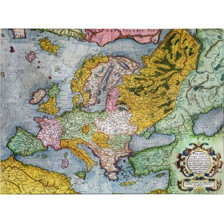 Trademark Art 'Europe In the 1590's' Canvas Art by Gerardus ...