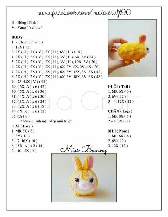 Amigurumi Tsum Tsum Free Pattern : Tsum Tsum tambor chica Crochet Pinterest Discover ...