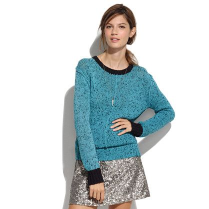 Cute lazy time. Something Else Mottled Sweater