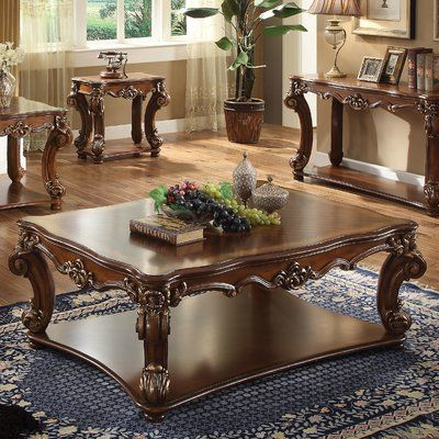 Brussels Coffee Table With Storage Traditional Coffee Table