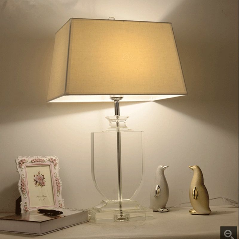 Contemporary Elegant Table Lamp Modern Crystal Table Lamp Dining