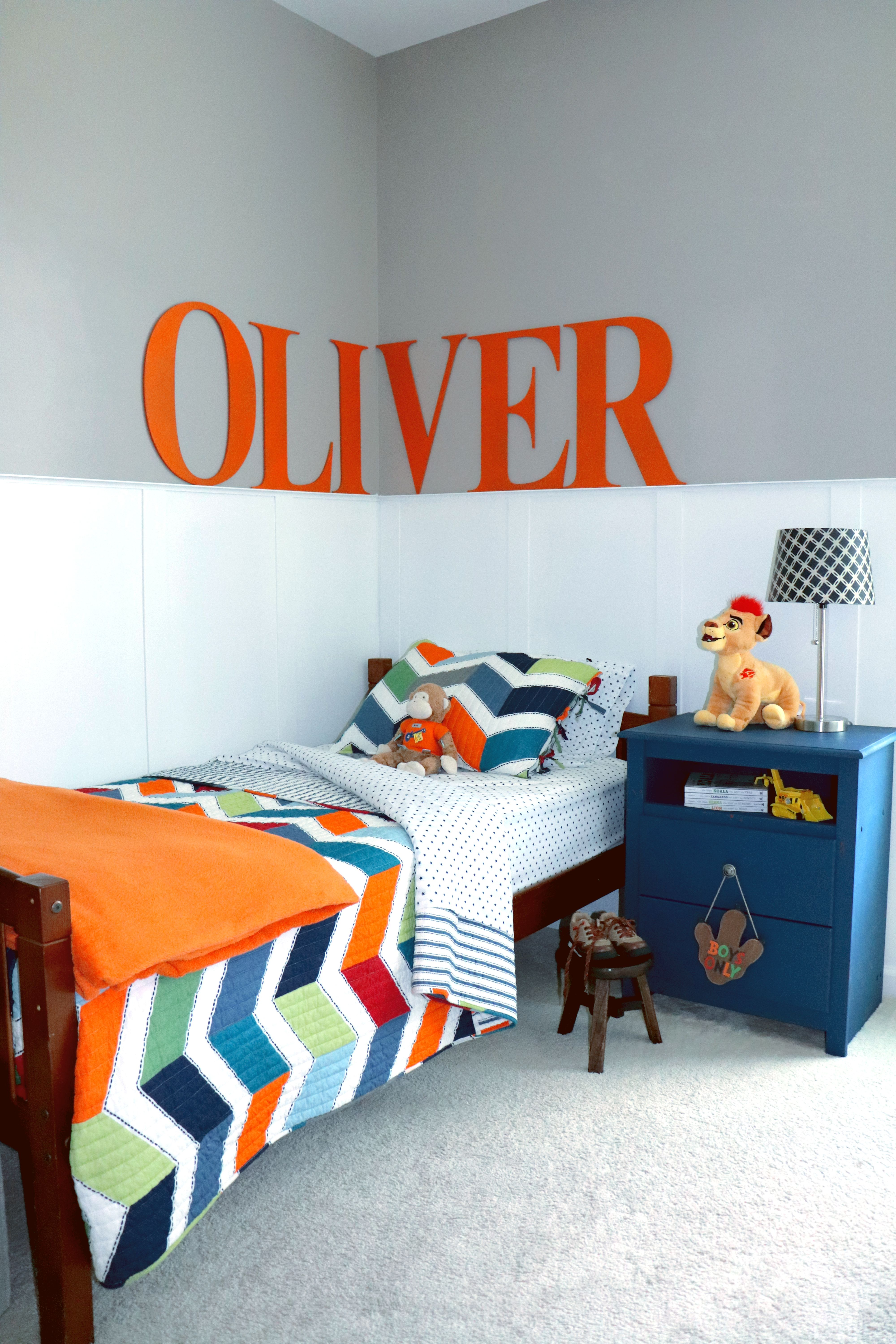 A Pottery Barn Inspired Boys Room With images   Little ...